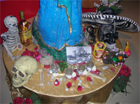 Day of the Dead offerings
