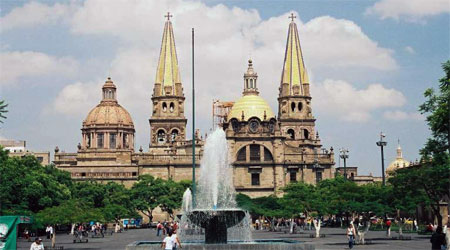 Mexico City Has Many Fountains And Monuments
